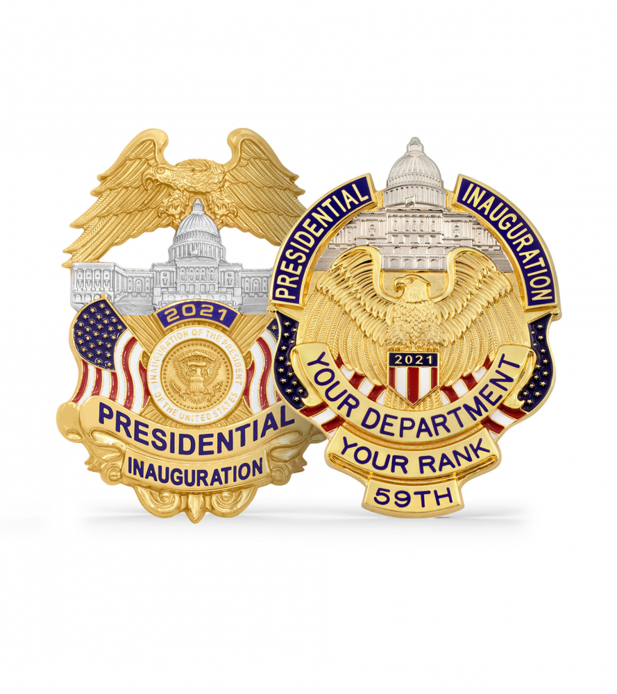 2021 Presidential Inauguration Badges